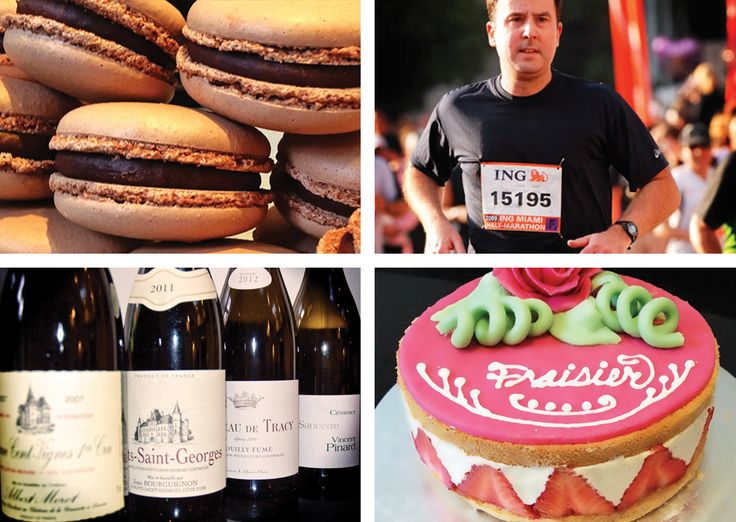 David…passion for pastry, running, wine and cake