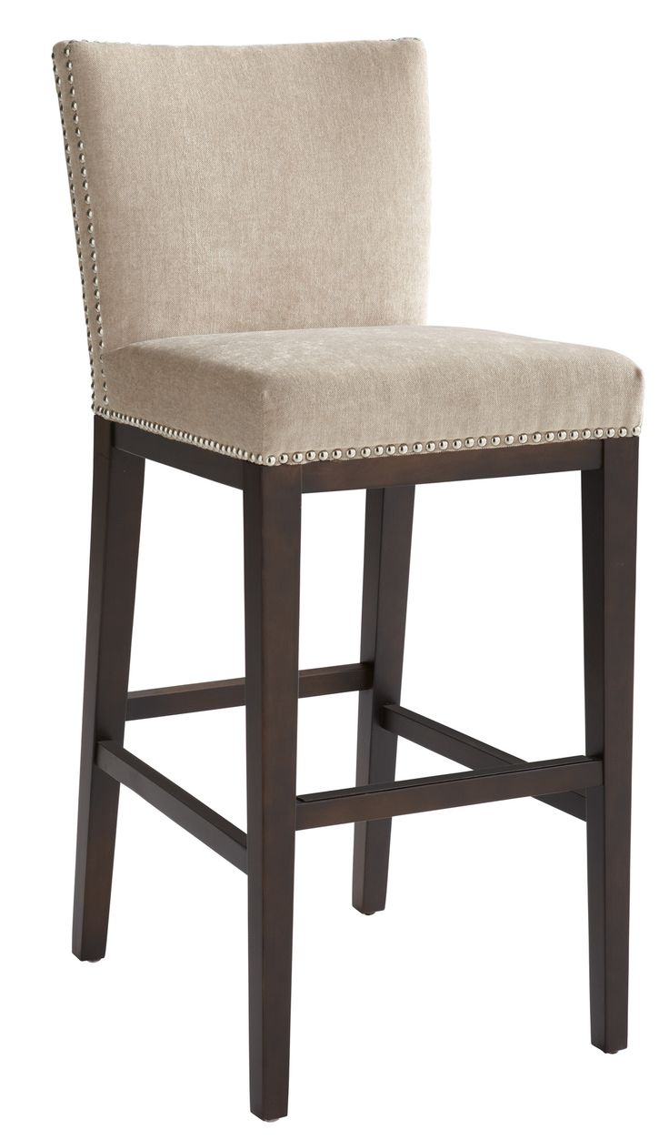 Stackable outdoor chairs lightweight peppermill interiors - 5west 26 Vintage Bar Stool With Cushion