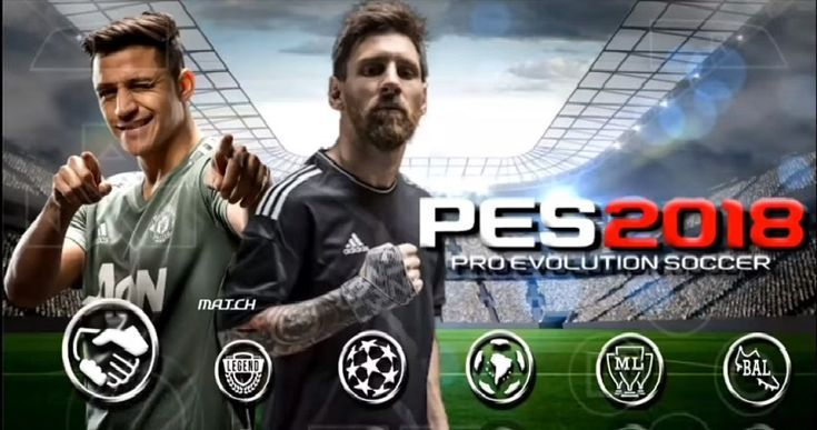 PES 2018 Offline or Android and iPhone Best HD Graphics