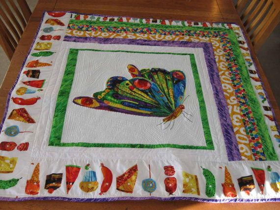 58 best Quilts - Very hungry caterpillar quilts images on ... : the hungry caterpillar quilt - Adamdwight.com