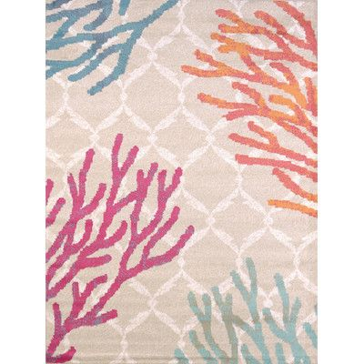 Found it at Wayfair Supply - Regional Concepts Tropical Reef Area Rug
