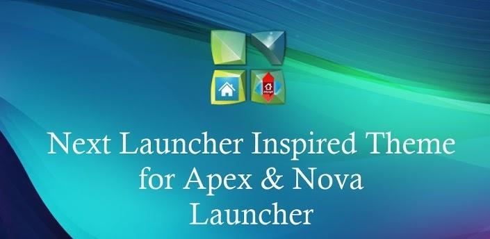 Next Launcher Theme Apex Nova