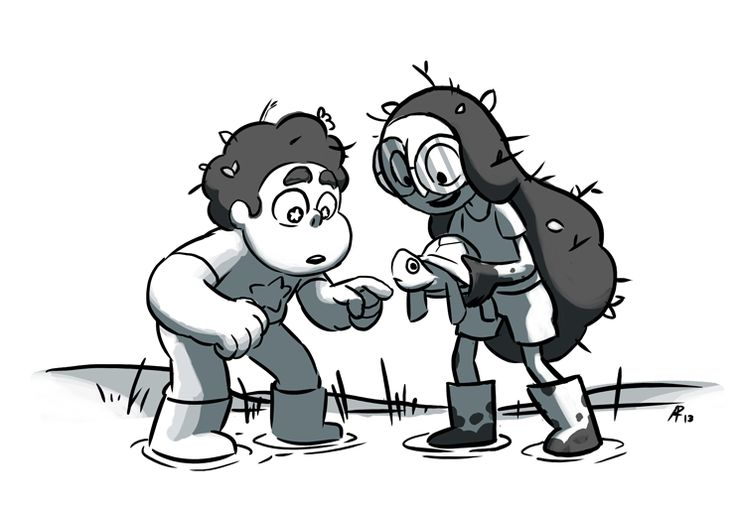 aleth romanillos | From Storyboard Revisionist Aleth Romanillos:Steven and Connie!!!