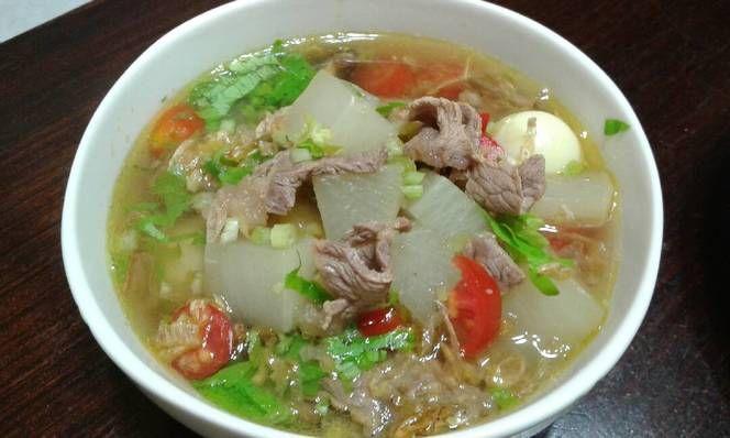 Resep Soto Bandung Sup Lobak Oleh Angelic Ii Resep Lobak Resep Makanan Resep Masakan