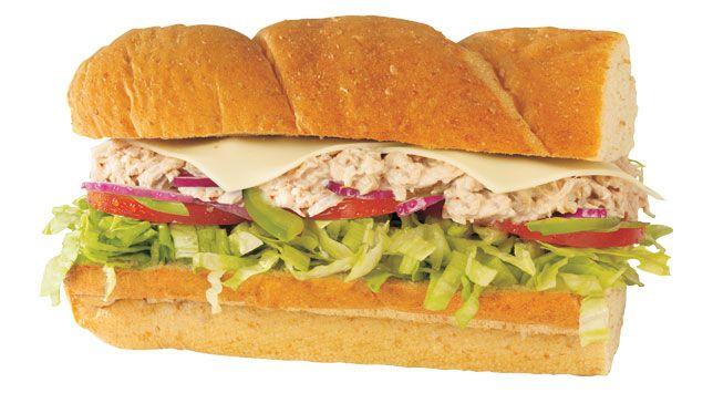 Subway tuna fish sandwich 47372 vizualize for Tuna fish sandwich