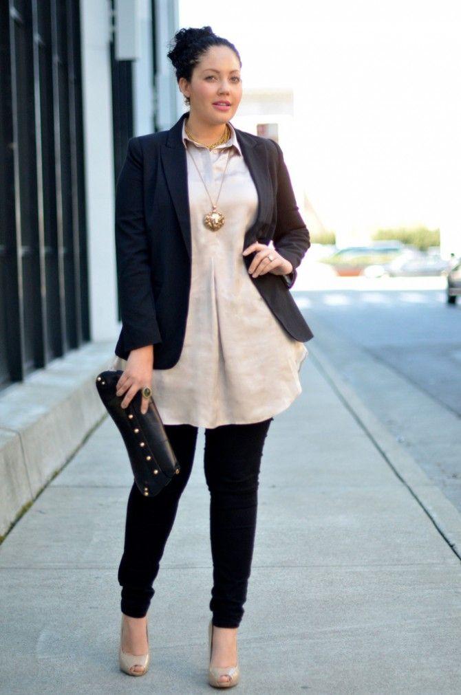Robe parfaite avec skinny jeans et veste