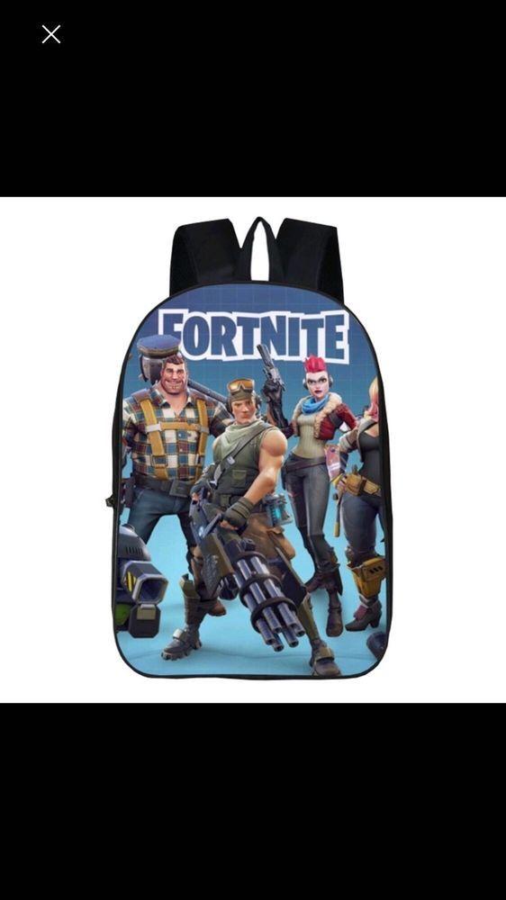 Game Fortnite Battle Royale Backpack Boys Girls School Bags Laptop Travel  Bag US  39d57838f1899