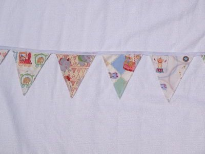 """""""Baby"""" Bunting-Big Top Circus-baby bunting big top circus boy or girl play room party decoration"""