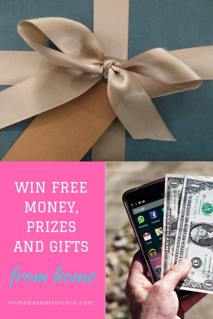 Win Free Money, Prizes and Gifts From Home | Contests and Freebies