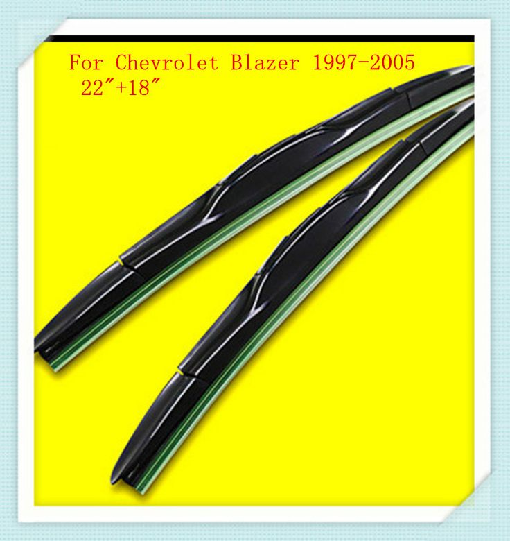 """3 Section Rubber Windscreen Wipers For Chevrolet Blazer 1997 1998 1999 2000 2001 2002 2003 2004 2005 22""""+18""""    #Affiliate"""