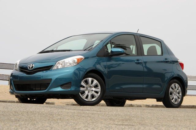 2012 Toyota Yaris review: 2012 Toyota Yaris LE: Basic shape is the same, but the Yaris is all new