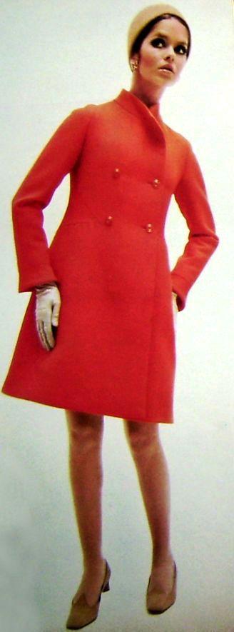 Lso modelos de abrigos de los años 50 continúan considerándose los más elegantes