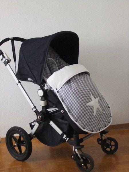 Kinderwagen Fußsack große Stoffauswahl von Cameleonstyle - Pimp my Bugaboo auf DaWanda.com