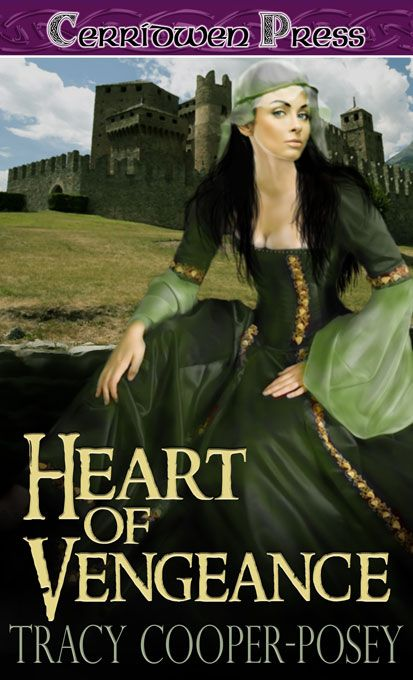 Heart of Vengeance.  Part of the Jewels of Tomorrow series. Historical Romantic Suspense. Second edition cover. http://tracycooperposey.com/books/heart-of-vengeance/