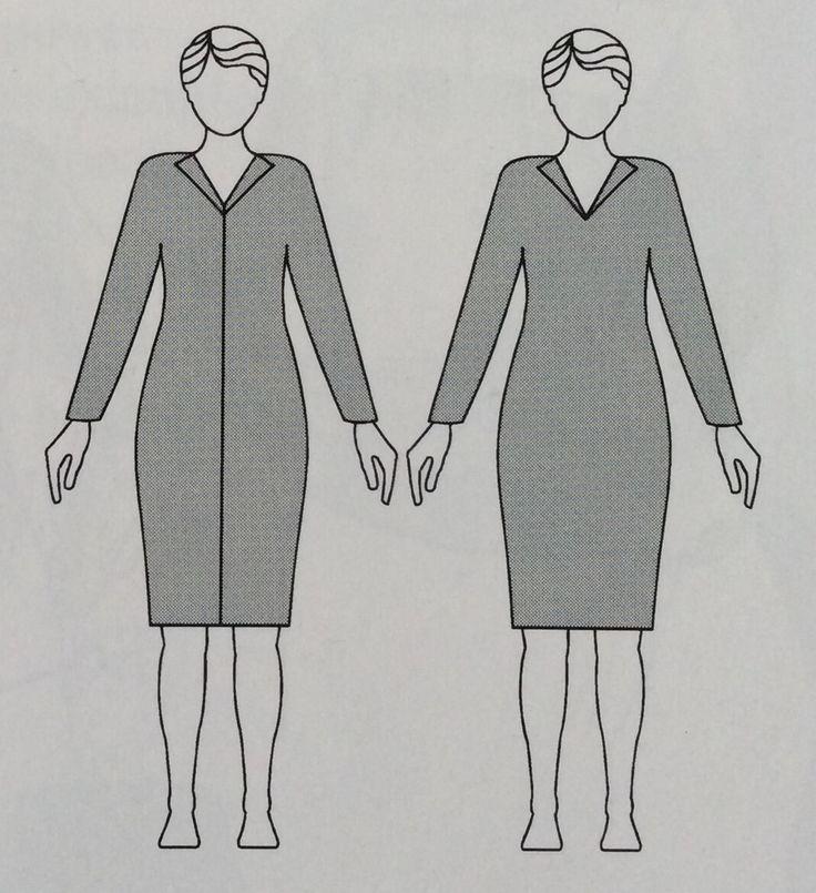 #Tip. De rechte lijn maakt slanker en verdeelt je lichaam in 2 vlakken. Dit kun je met een sjaal of lange ketting ook voor elkaar krijgen #imagomatch