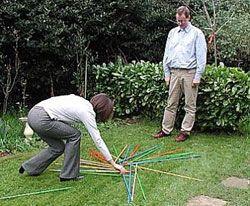 Juego palos chinos gigantes
