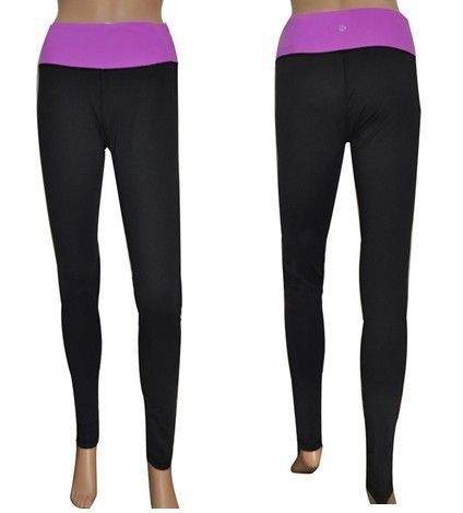 lululemon factory outlet Yoga Wunder Under Pants Black Purple Warehouse Sale http://lululemonfactoryoutlet2014.com