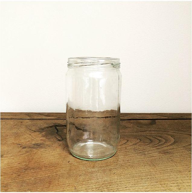 Vase de récup' pour un esprit vintage à customiser avec un ruban, une corde chez l'Atelier d'Hiris, location de décoration 44