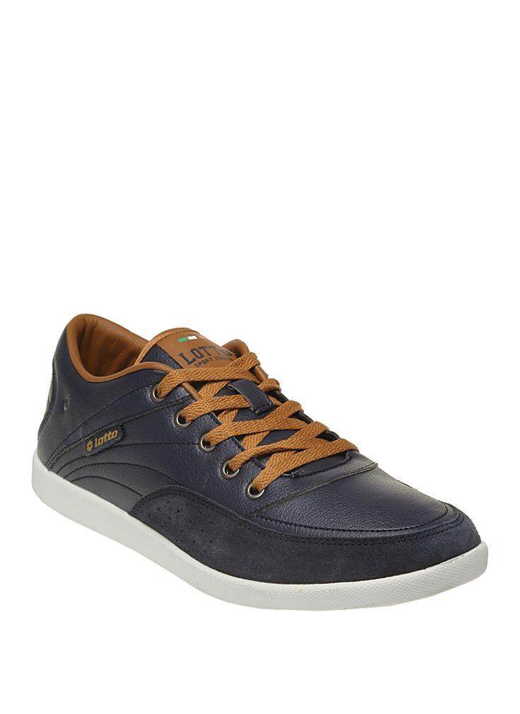 lotto Q8831 GLEN Lacivert Erkek Günlük Spor Ayakkabısı