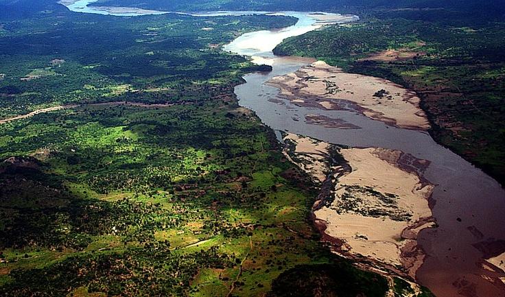 Zambezi River Valley at Tete, Mozambique