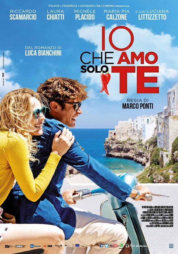 "Based on the novel by Luca Bianchini ""I Who Love Only You,"" which tells a true story and shows the real names of the protagonists. The October 22, 2015 in all national cinemas, the Film, filmed entirely in the wonderful Polignano a Mare ....   https://instagram.com/polignanomadeinlove/  #polignanomadeinlove #ilovepolignanoamare #iocheamosolote #love #weddinginpolignano #RiccardoScamarcio #LucianaLittizetto #LauraChiatti #MichelePlacido #WeAreInPuglia #WeAreInPolignano #polignanolovers"