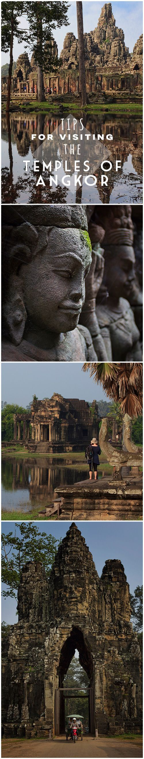 Tips and suggestions for planning at visit to the Temples of Angkor, Cambodia.
