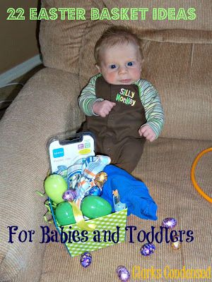 Easter Basket Ideas for Babies and Toddlers from @Katie Hrubec Schmeltzer Schmeltzer Clark @ Clarks Condensed