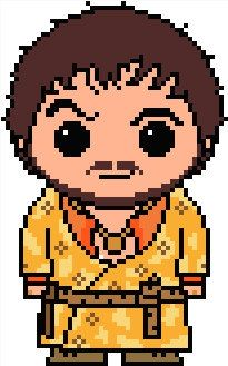 Game of Thrones: Oberyn Martell (The Red Viper) PDF Chart Pattern by Shylah Addante