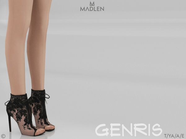 Madlen Genris Boots by MJ95 at TSR • Sims 4 Updates