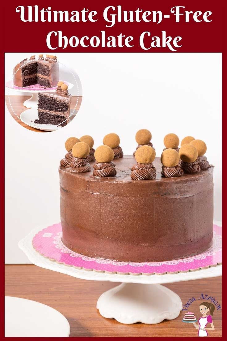 Awe Inspiring Make A Rich Moist Light And Airy Gluten Free Chocolate Cake For Birthday Cards Printable Nowaargucafe Filternl