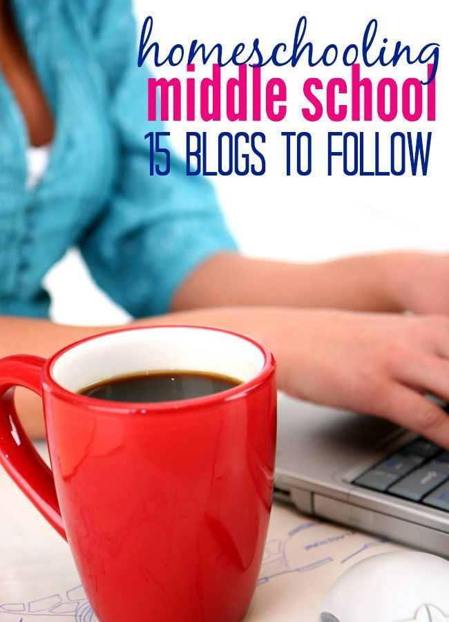 15 blogs to read if you're looking for inspiration for homeschooling middle school. You'll find plenty of tips & advice as well as homeschooling encouragement.