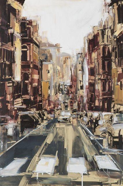 Street in Rome, 2012, by Sean Flood