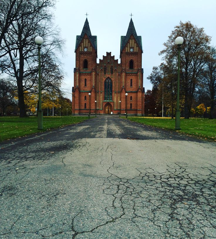The Church of Kristinehamn, Sweden.