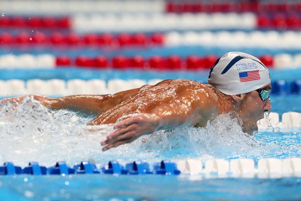 Michael Phelps Photos Photos - Michael Phelps of the United States competes in the final heat for the Men's 200 Meter Butterfly during Day Four of the 2016 U.S. Olympic Team Swimming Trials at CenturyLink Center on June 29, 2016 in Omaha, Nebraska. - 2016 U.S. Olympic Team Swimming Trials - Day 4