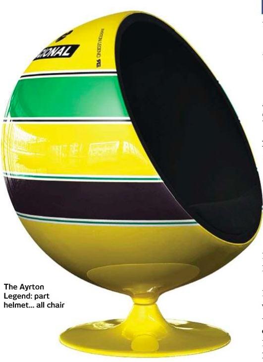 Ayrton Senna's chair