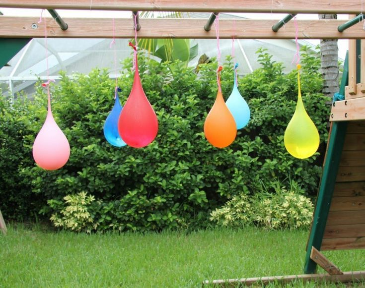 Wasserballon Pinata Garten Outdoor Spiele Kindergeburtstag Sommer Fun Activities For Toddlers Water Balloons Kids Party