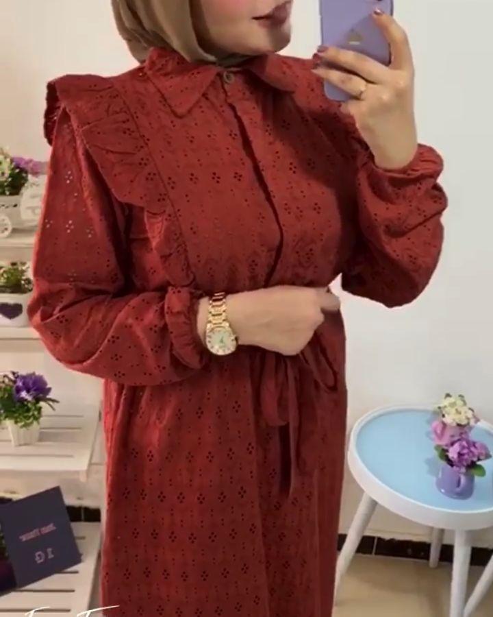 Dorktya Boutique On Instagram الموديل دريس الخامه ركامه السايز ل ٧٥ ك Muslim Outfits Fashion Clothes