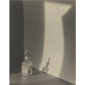 Jaromír Funke, composition with perfume bottle