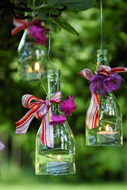 Lampiony z butelki. Pomysł na prezent , zrób to sam ( For Sara from Ewa) These are fantastic!
