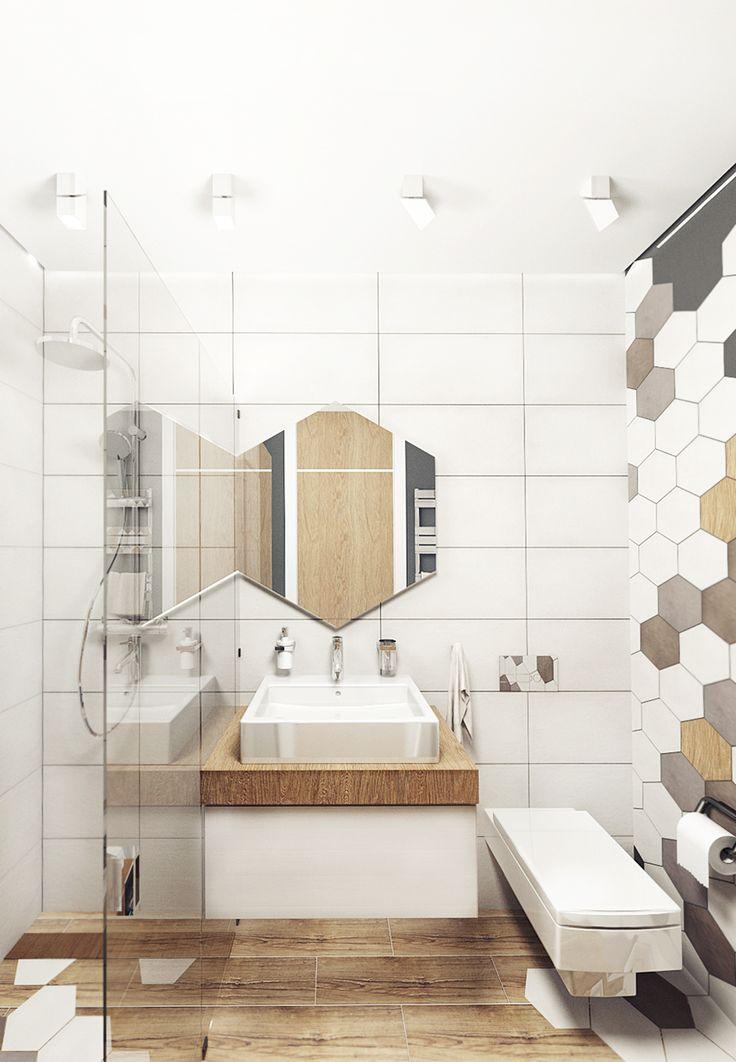 KEKS'S APARTMENT    Дизайн интерьера. Ванная комната.