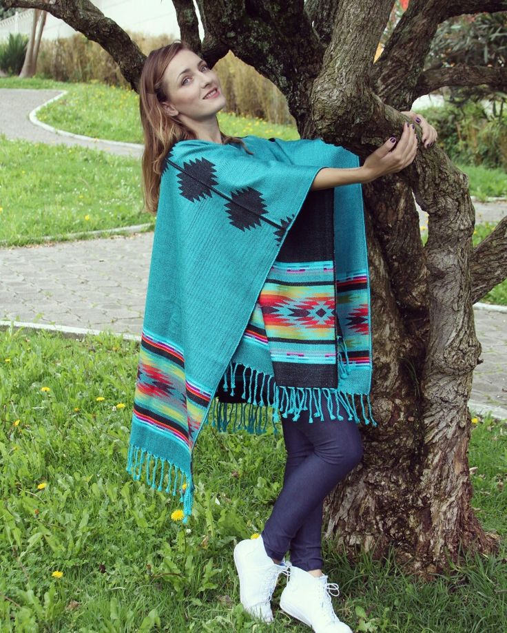 A very beautiful poncho made of alpaca wool. Check our shop on eBay ☺☺