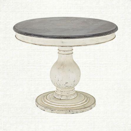 Black Round Pedestal Dining Table