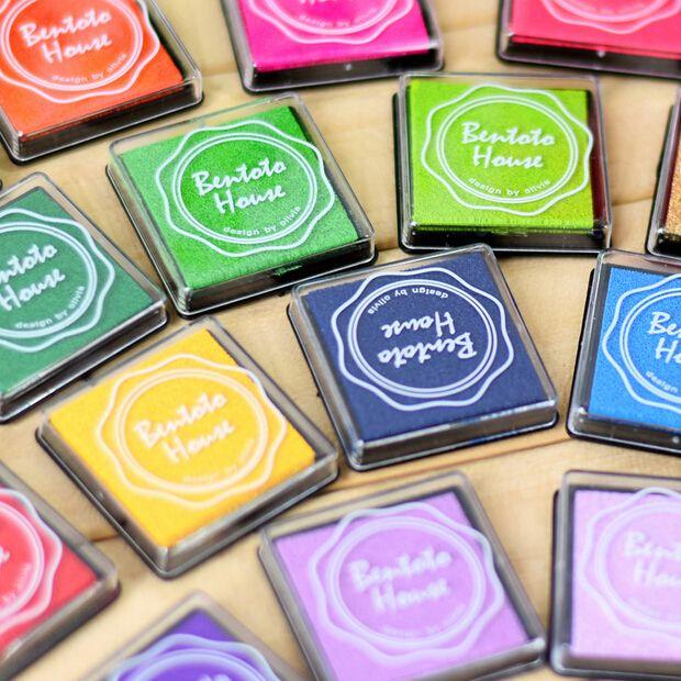 Aliexpress.com: Comprar 20 colores lindos Inkpad Craft base de aceite de bricolaje almohadillas de tinta para sellos de goma tela libro de recuerdos decoración de la boda huella digital sello Pad de tatuajes de tinta fiable proveedores en Double 7 Beauty Life