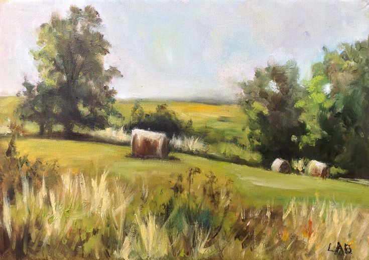 17 best images about hay field paintings on pinterest for Oil painting lessons near me