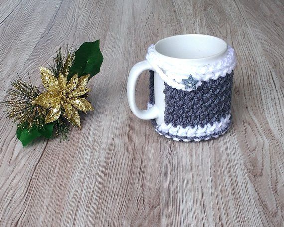 Christmas Mug Cozy Mug Sweater Mug Cozy Holder Coffee