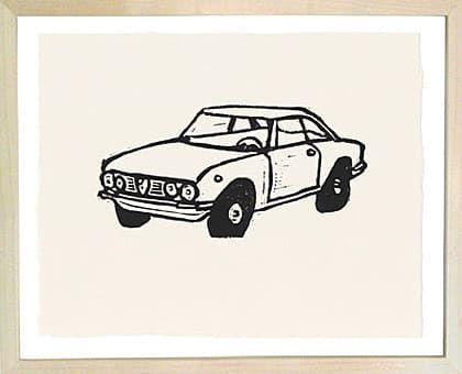 Lil Scandinavian car <3 John Derian Company Inc — Alfa Romeo Car
