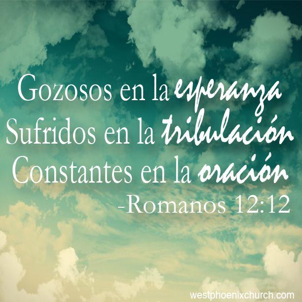 Romanos 12:12 | Instagram | God, Blessed