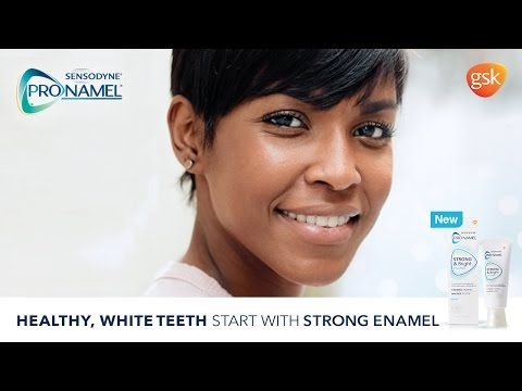 What Does Strong Mean To You?   Sensodyne® ProNamel® Strong & Bright - YouTube
