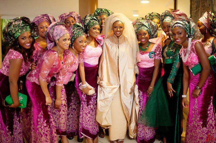 Gorgeous African wedding: Fashion, Wedding Ideas, African Weddings, Beautiful, Bride, Aso Ebi Style, Nigerian Weddings