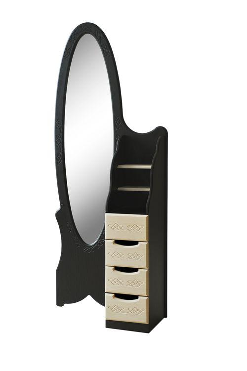 Дизайн трюмо с зеркалом в прихожую